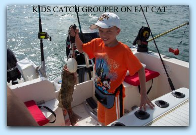 Red Grouper fishing on fat cat