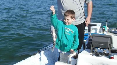 Free kids fishing charters Florida