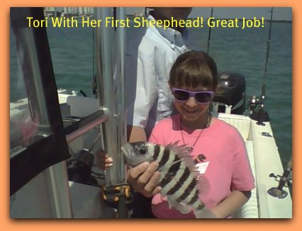 Tampa bay fishing charters Kids catch fish with fat cat fishing charters